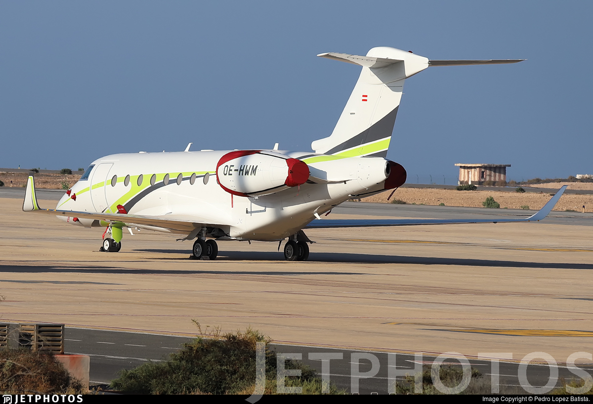 OE-HWM - Gulfstream G280 - Alpine Sky Jets Ltd.