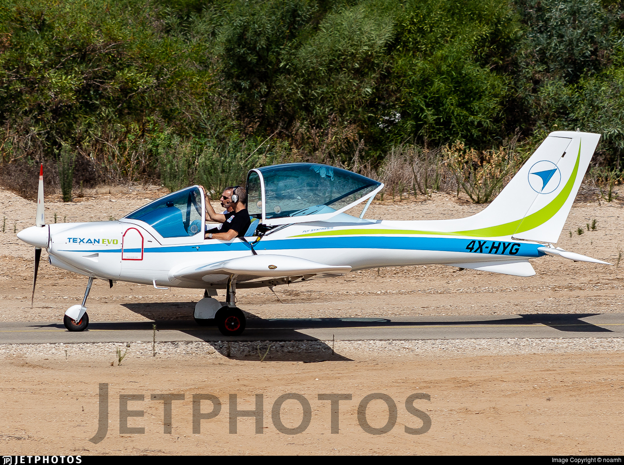4X-HYG - FlySynthesis Texan Top Class RG - Private