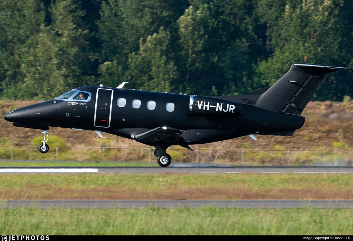 VH-NJR - Embraer 500 Phenom 100EV - Private
