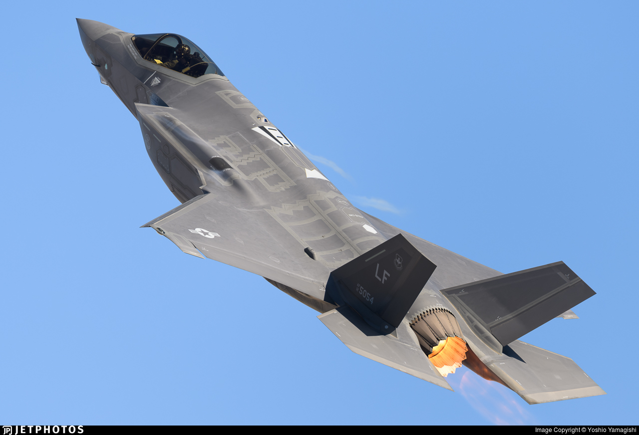 12-5054 - Lockheed Martin F-35A Lightning II - United States - US Air Force (USAF)