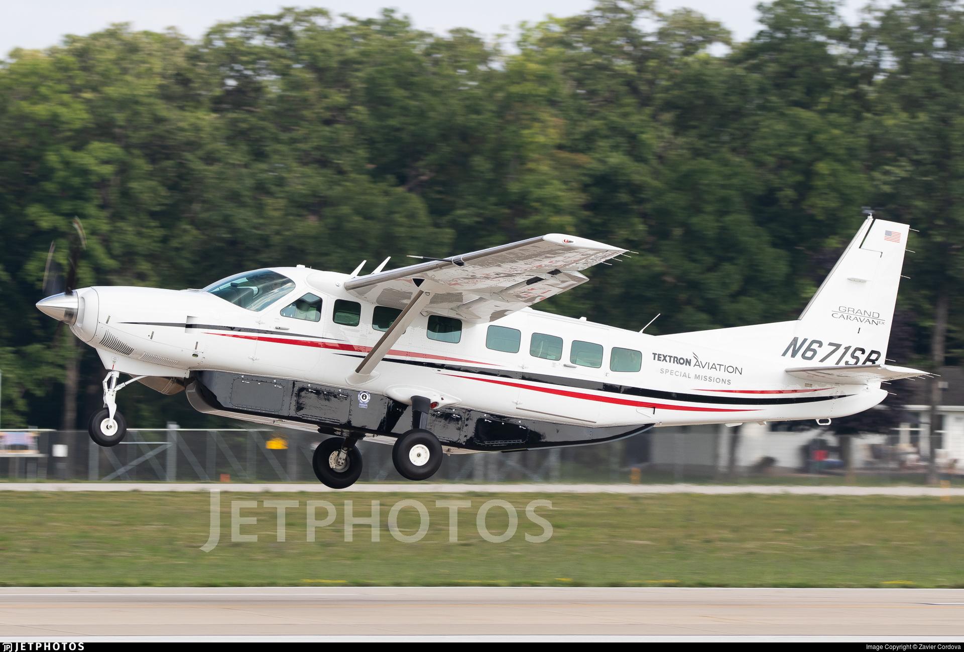 N671SR - Cessna 208B Grand Caravan EX - Textron Aviation