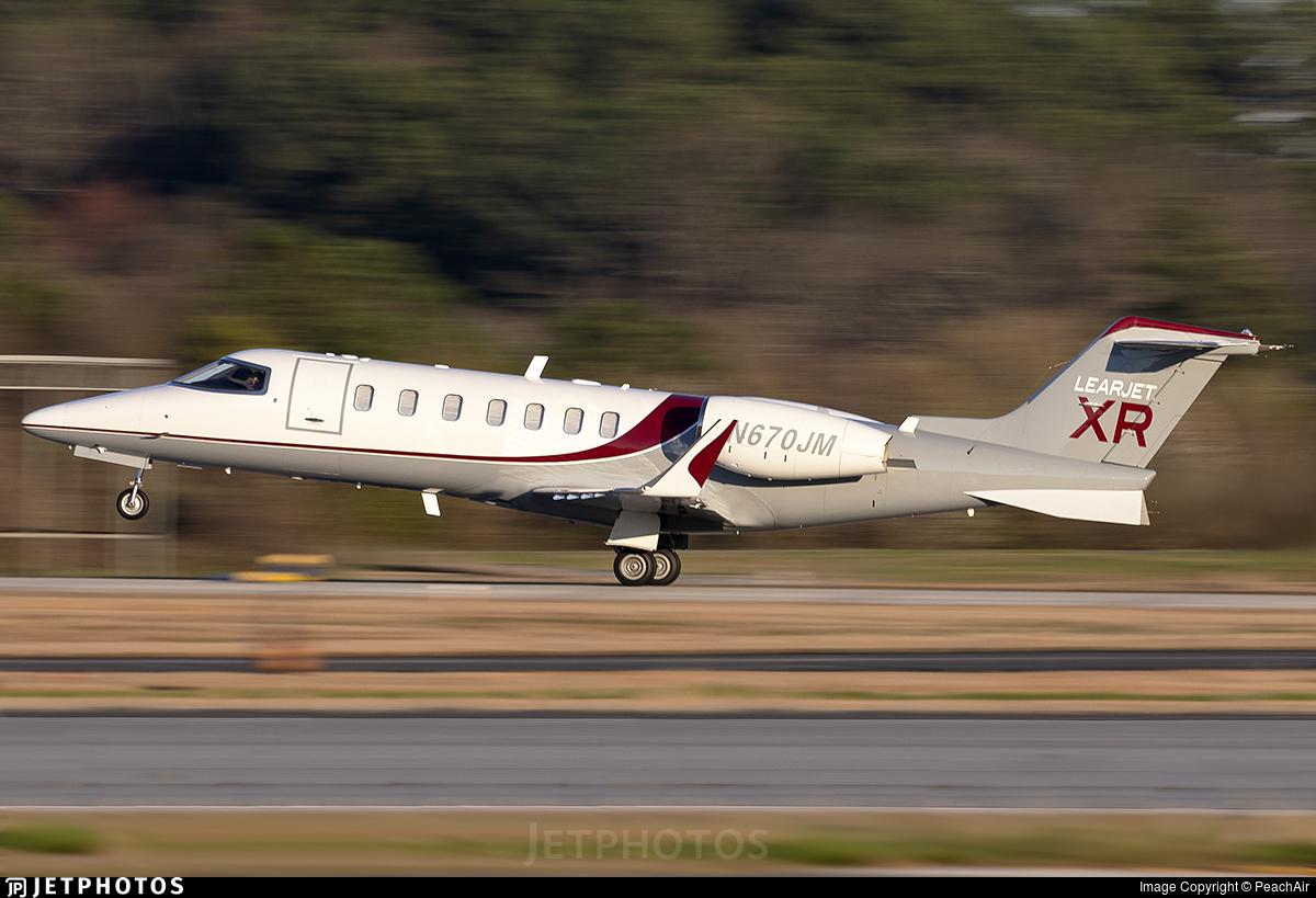 N670JM - Bombardier Learjet 40XR - Private