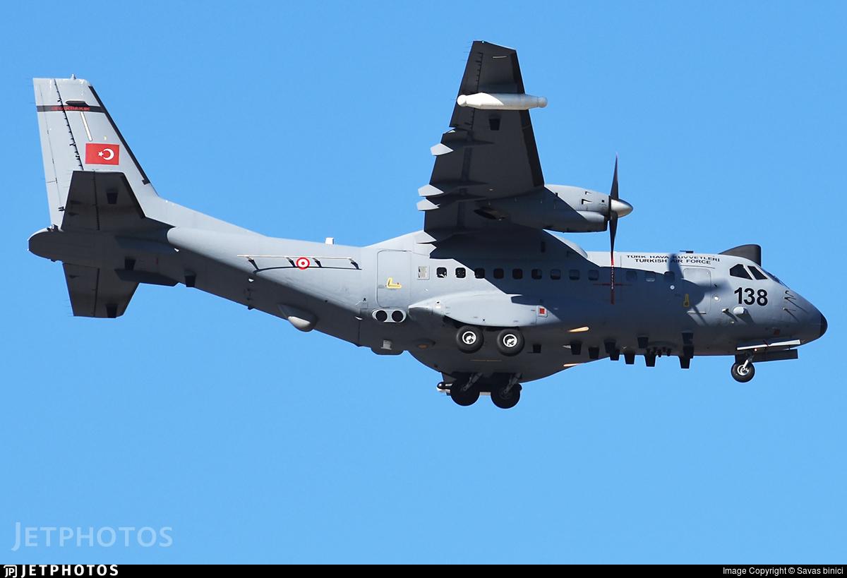 97-138 - CASA CN-235M-100 - Turkey - Air Force