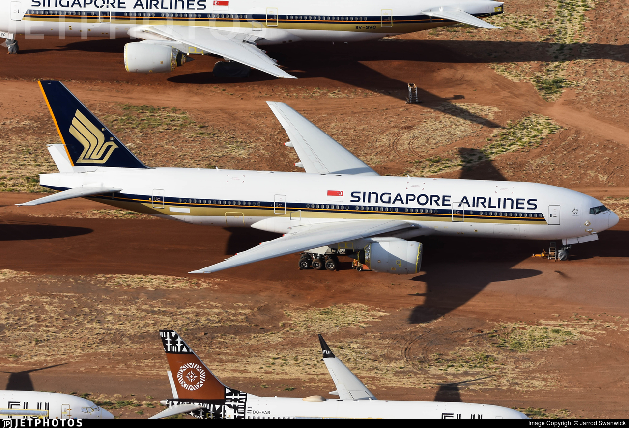 N827KW - Boeing 777-212(ER) - Singapore Airlines