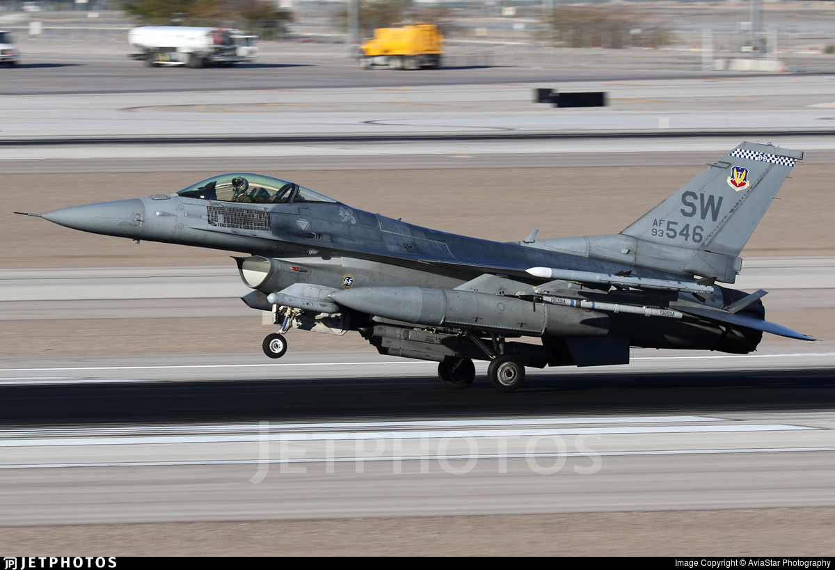 93-0546 - Lockheed Martin F-16C Fighting Falcon - United States - US Air Force (USAF)