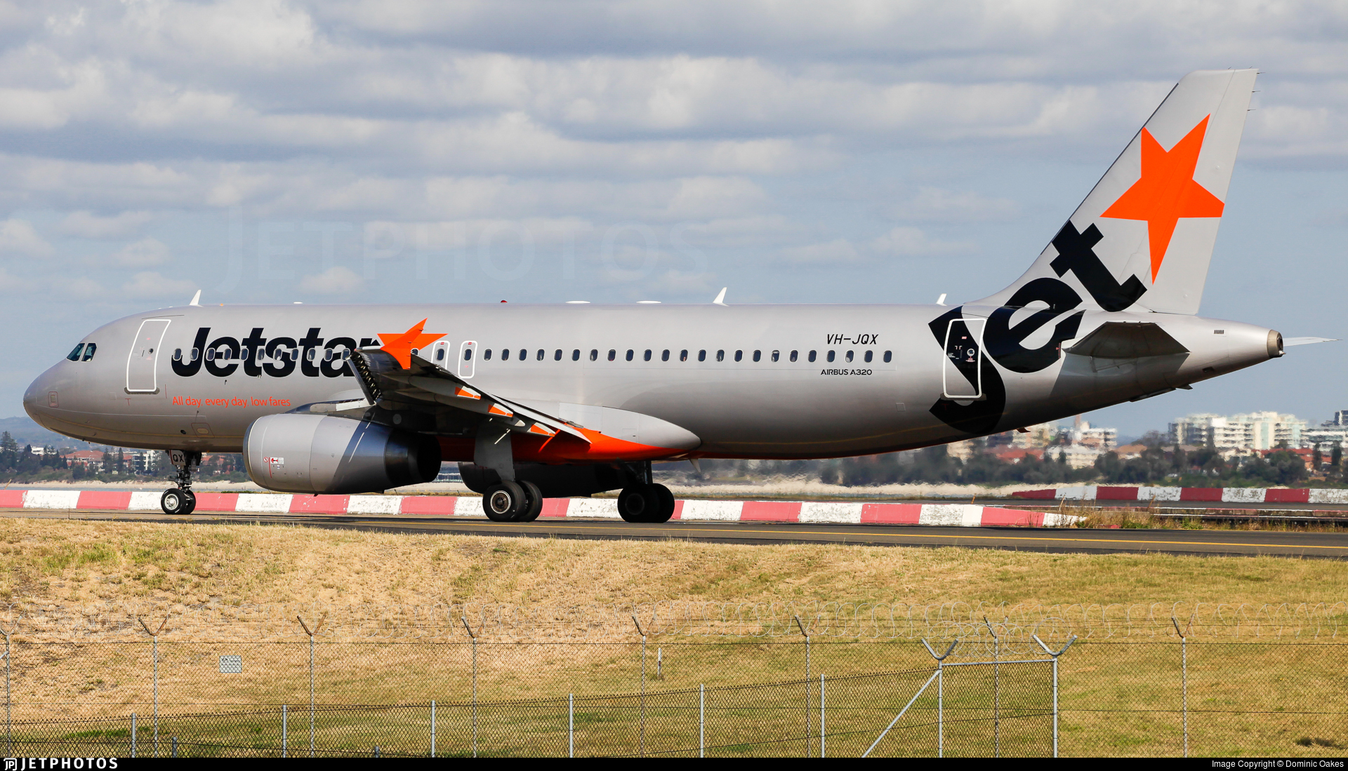 VH-JQX - Airbus A320-232 - Jetstar Airways