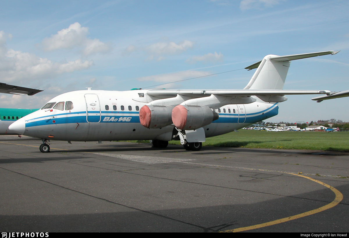 B-632L - British Aerospace BAe 146-100 - Untitled