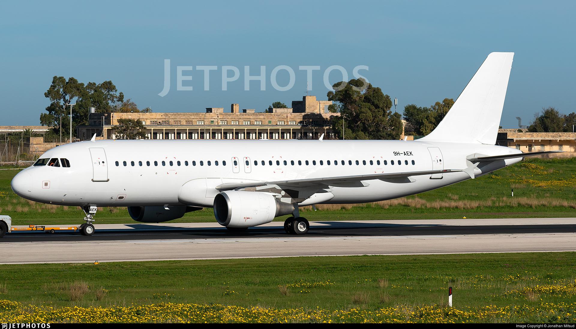 9H-AEK - Airbus A320-214 - Untitled