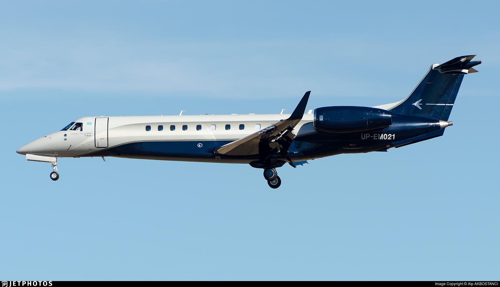 UP-EM021 - Embraer ERJ-135BJ Legacy 600 - Private