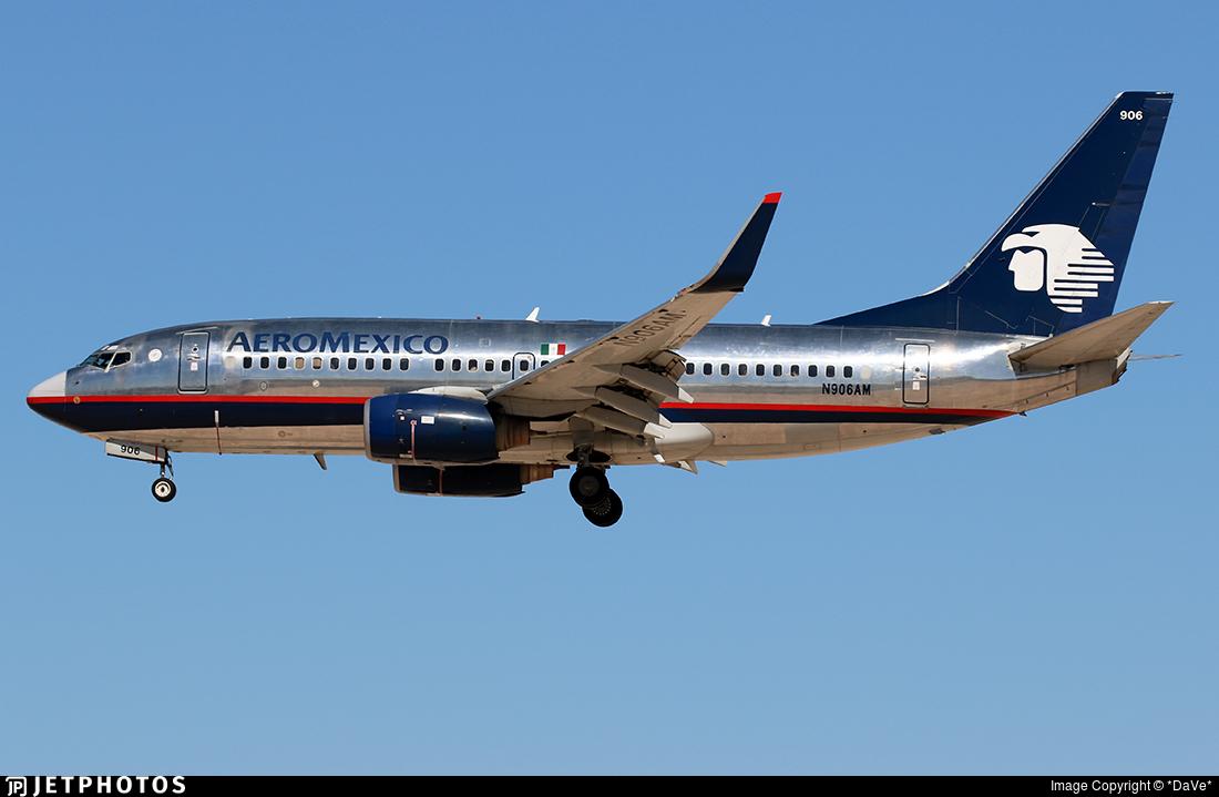 N906AM - Boeing 737-752 - Aeroméxico