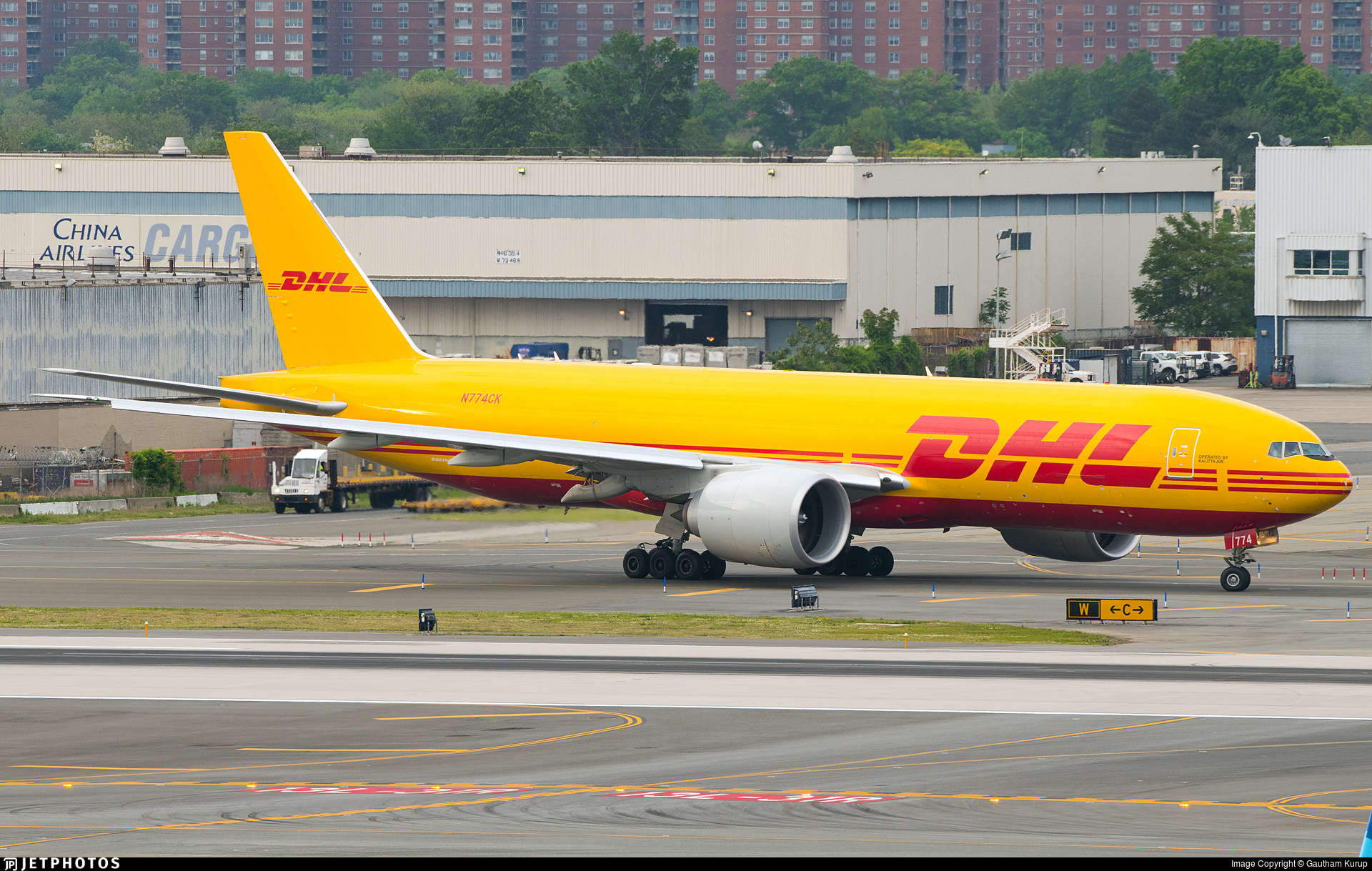 N774CK - Boeing 777-FBL - DHL (Kalitta Air)