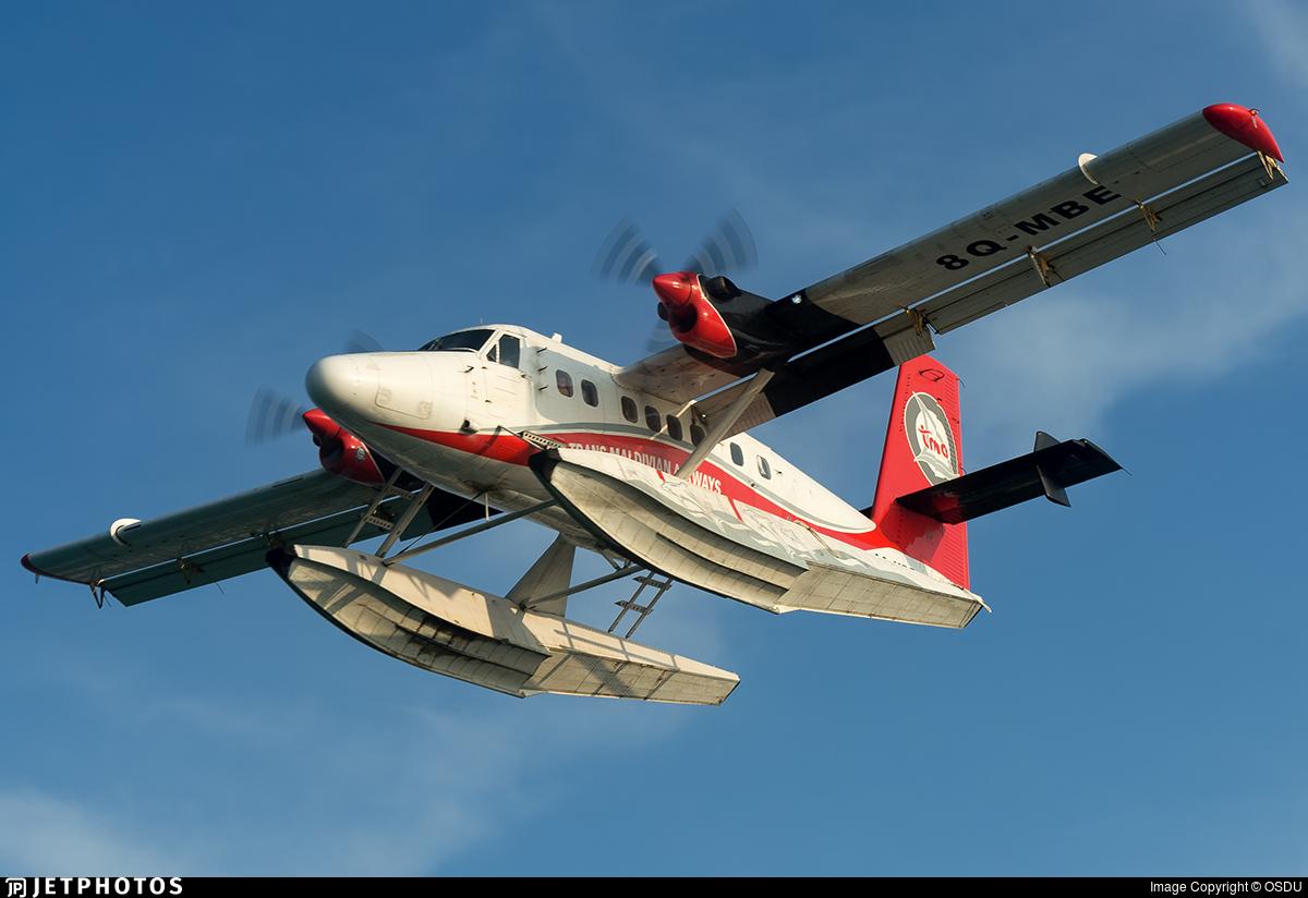 8Q-MBE - De Havilland Canada DHC-6-300 Twin Otter - Trans Maldivian Airways