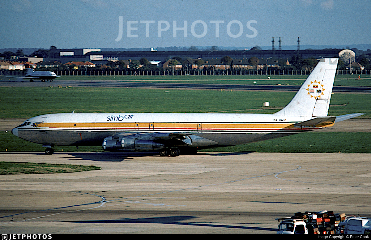 5X-UWM - Boeing 707-323C - Simbair