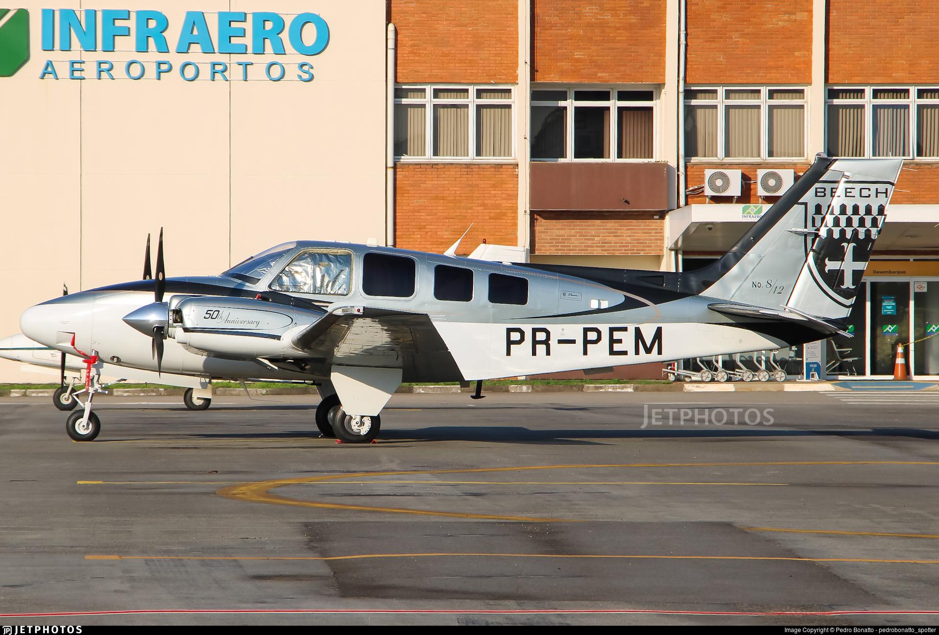 PR-PEM - Beechcraft G58 Baron - Private
