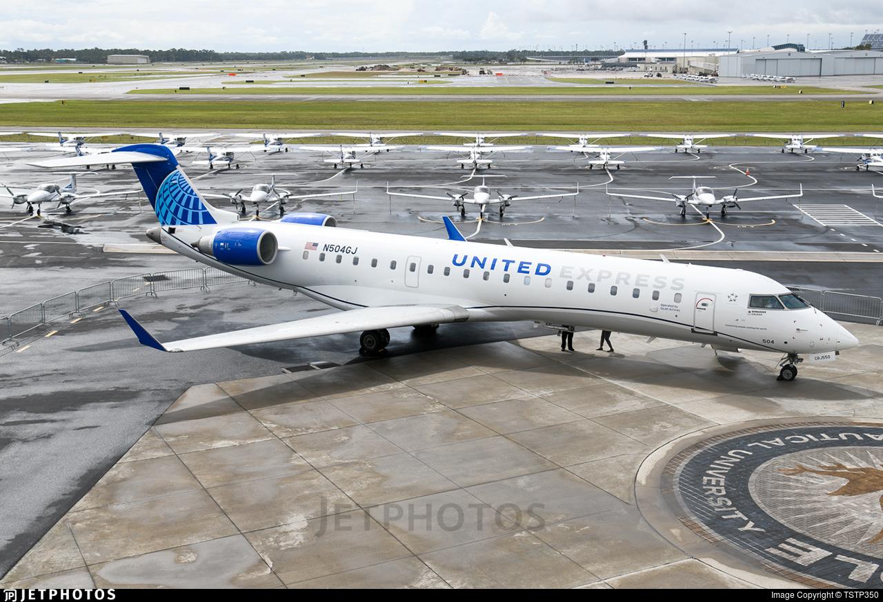 N504GJ - Bombardier CRJ-550 - United Express (GoJet Airlines)