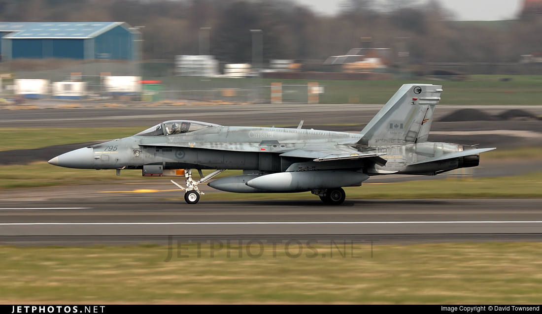 188795 - McDonnell Douglas CF-188 Hornet - Canada - Royal Canadian Air Force (RCAF)