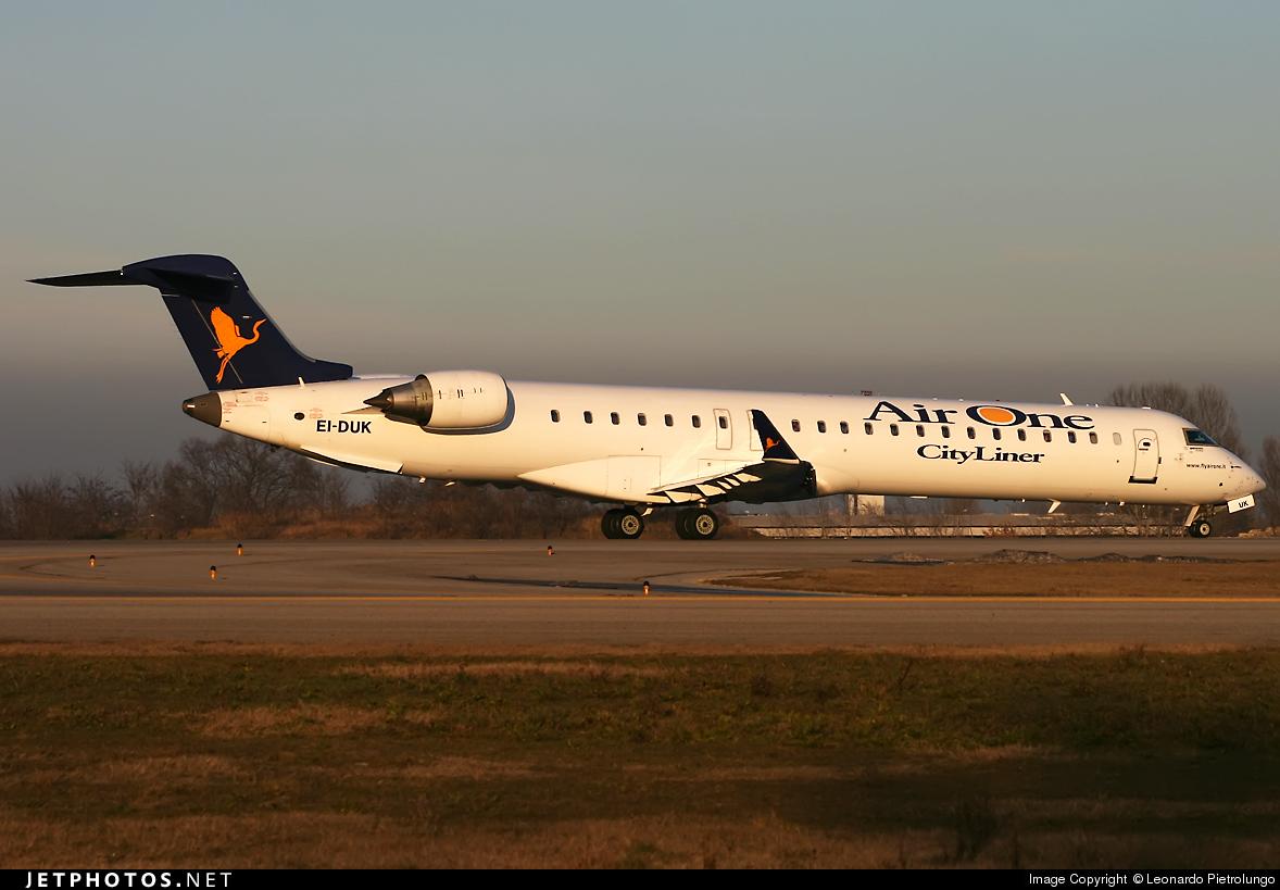 EI-DUK - Bombardier CRJ-900ER - Air One CityLiner