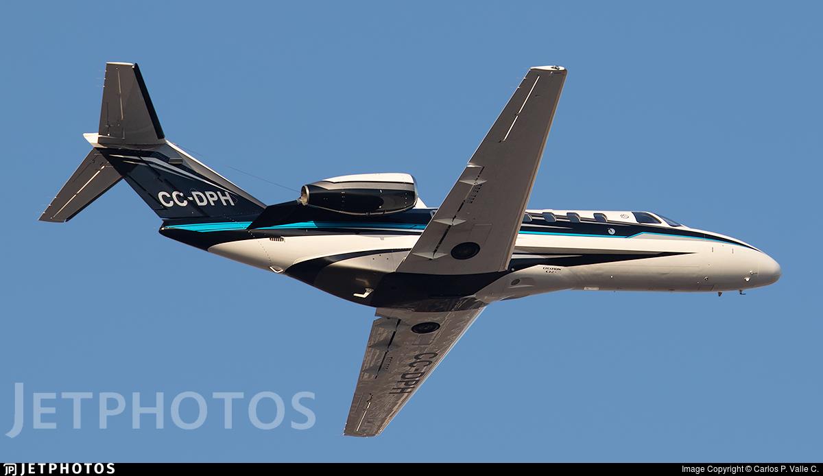 CC-DPH - Cessna 525A CitationJet CJ2+ - Private