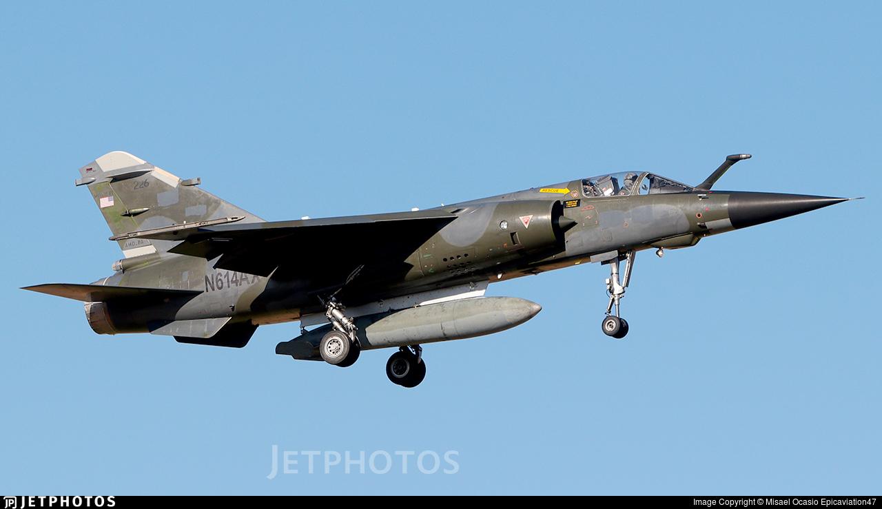 N614AX - Dassault Mirage F1CT - Airborne Tactical Advantage Company (ATAC)