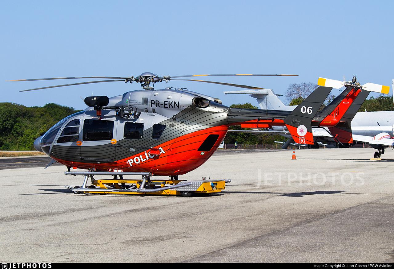 PR-EKN - Eurocopter BK117C-2 - Brazil - CIOPAER Ceará