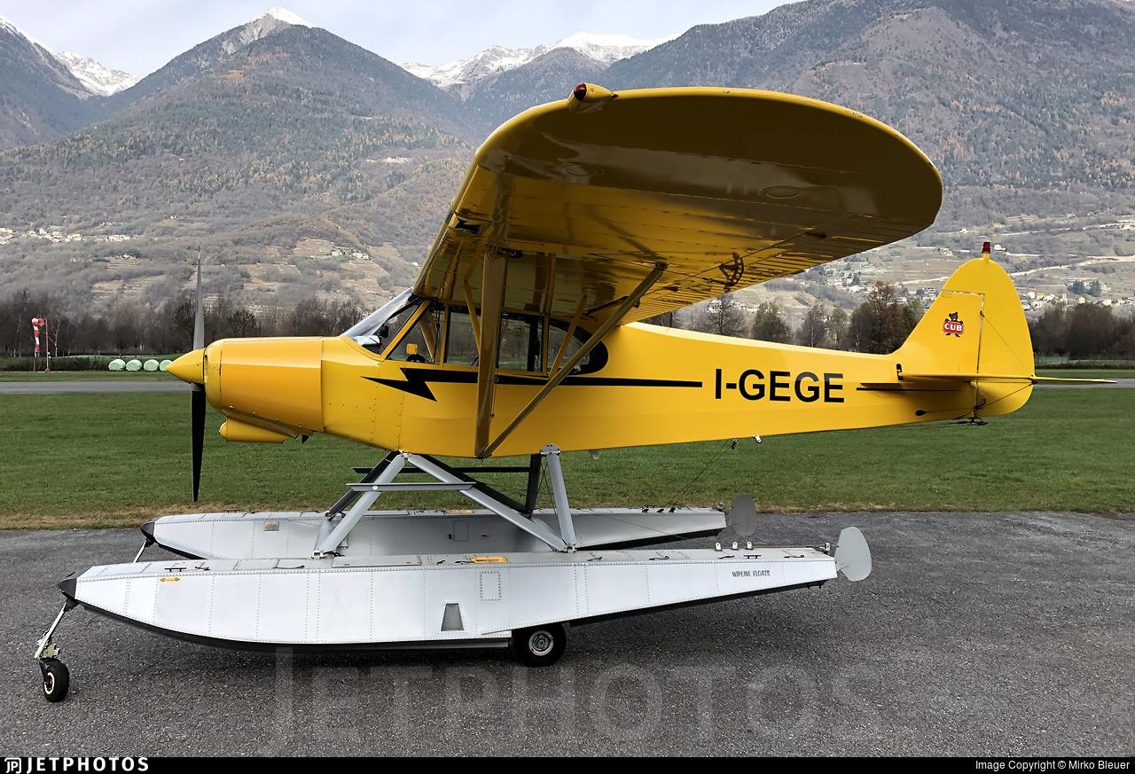 I-GEGE - Piper PA-18-180M Super Cub - Aero Club - Como