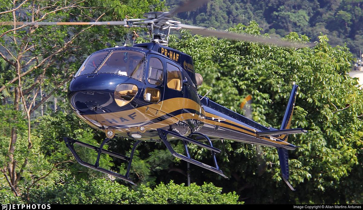 PR-HAF - Helibras HB350B2 Esquilo - Private
