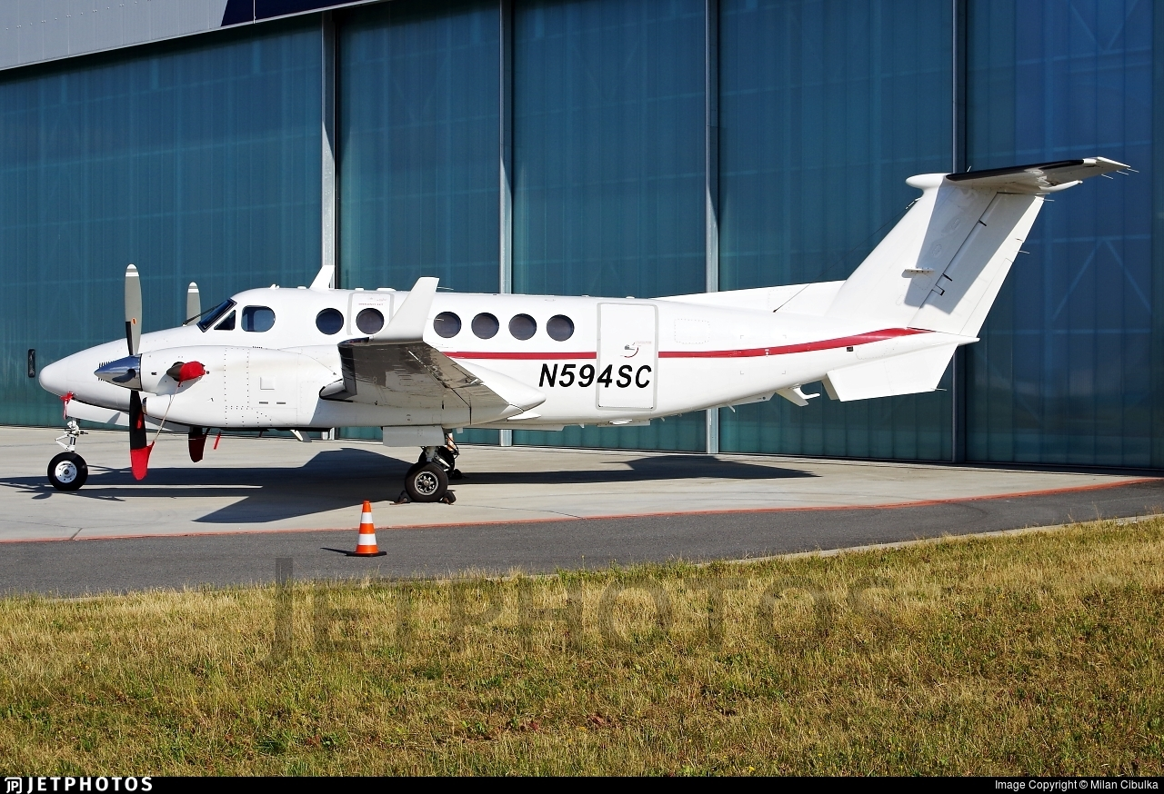 N594SC - Beechcraft 300 Super King Air - Private