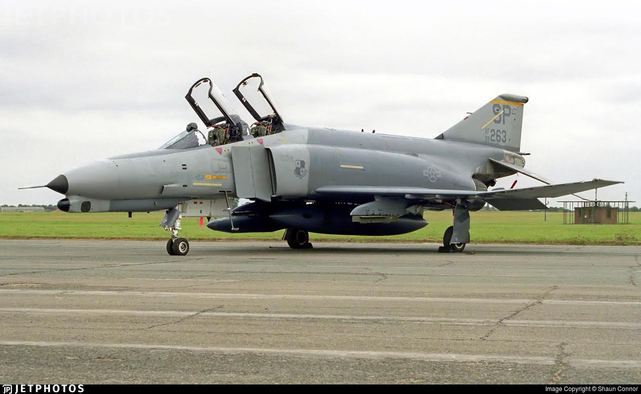 69-0263 - McDonnell Douglas F-4G Phantom II - United States - US Air Force (USAF)