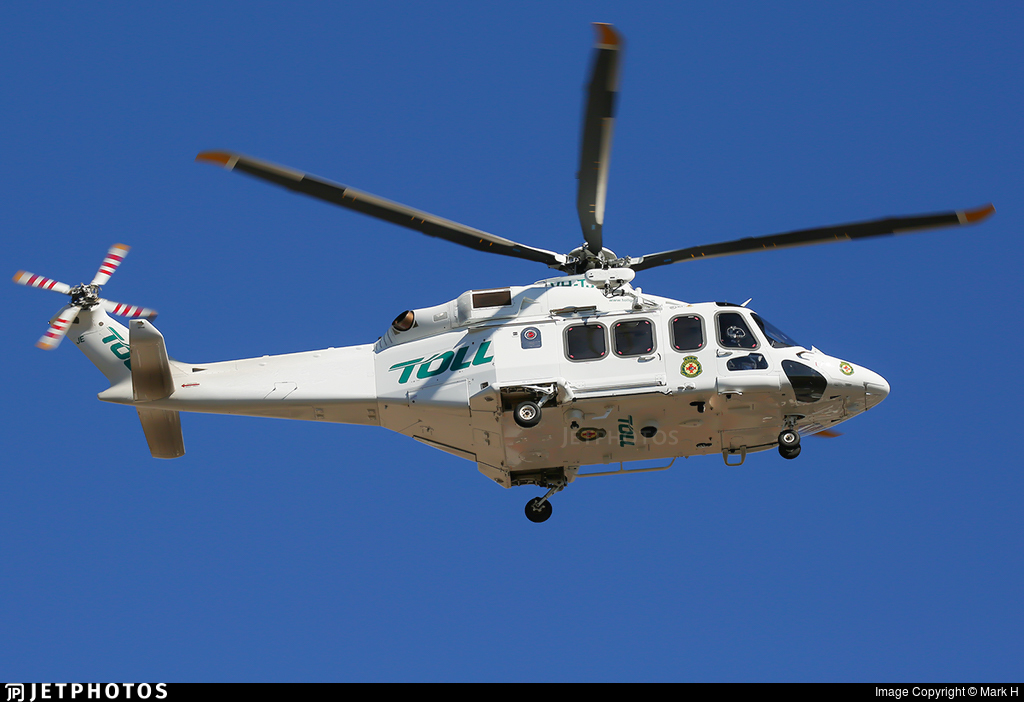 VH-TJE | Agusta-Westland AW-139 | Toll Helicopters NSW | Mark H