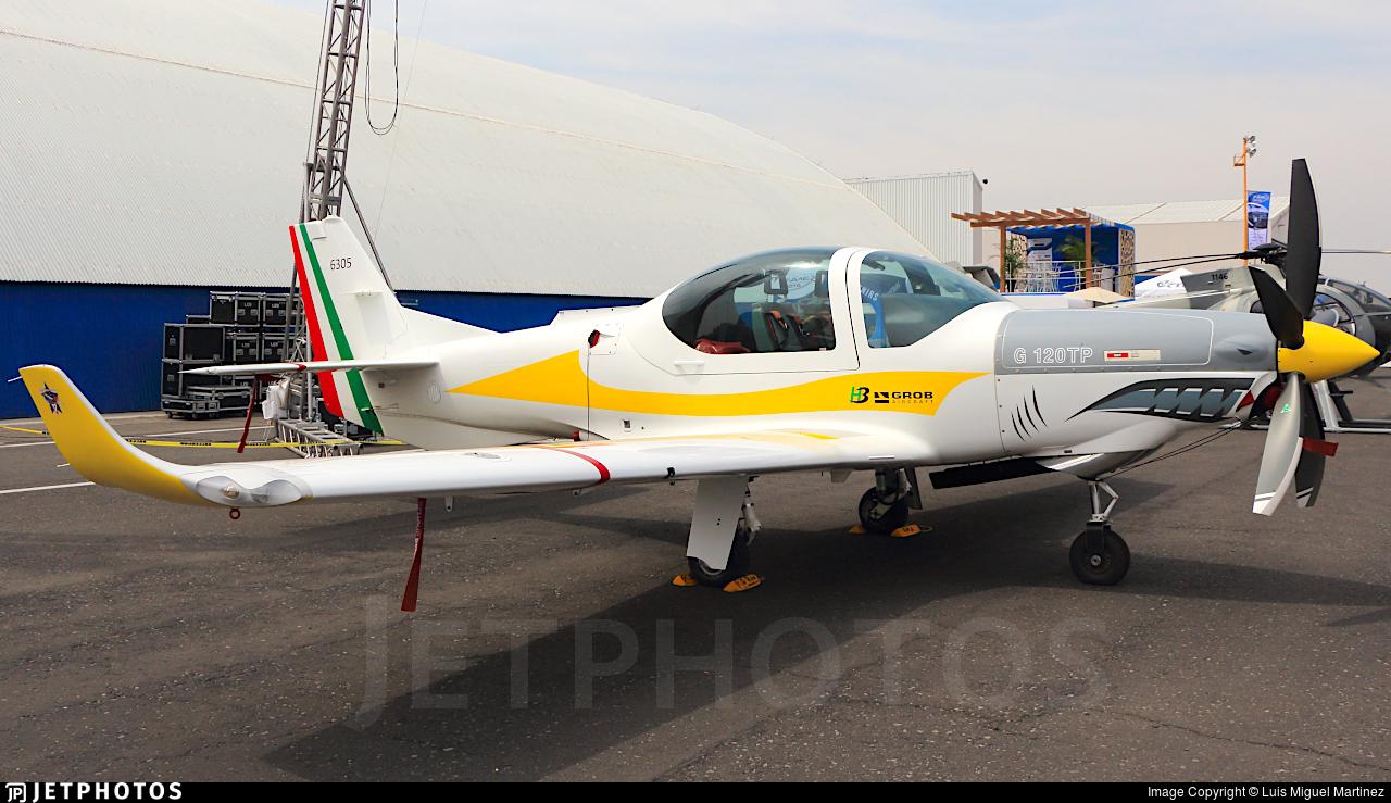 6305 - Grob G120TP - Mexico - Air Force