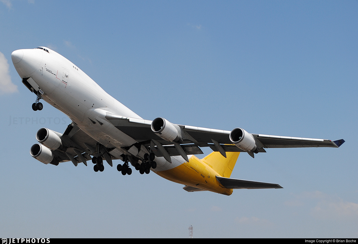 N416MC - Boeing 747-47U(F) - Atlas Air