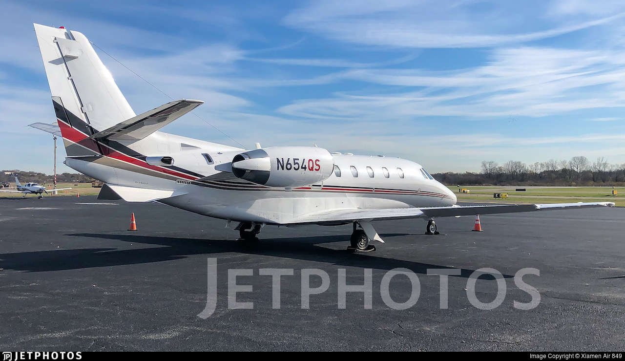 N654QS - Cessna 560XL Citation XLS - NetJets Aviation