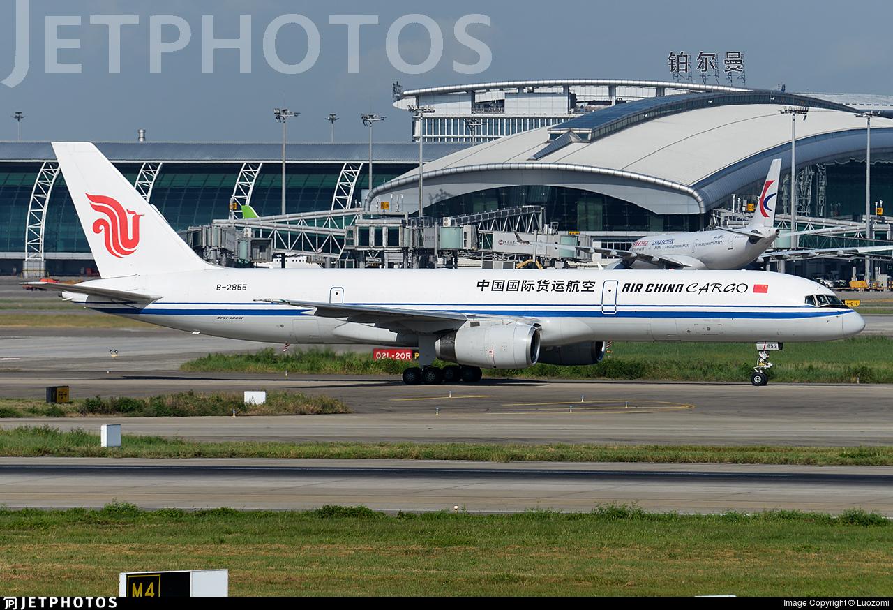 B-2855 - Boeing 757-2Z0(SF) - Air China Cargo