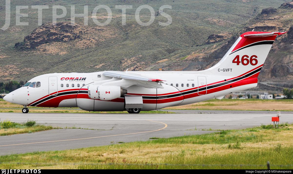 C-GVFT - British Aerospace Avro RJ85 - Conair Aviation