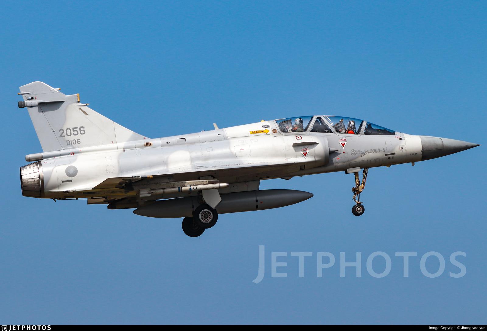 2056 - Dassault Mirage 2000-5 - Taiwan - Air Force