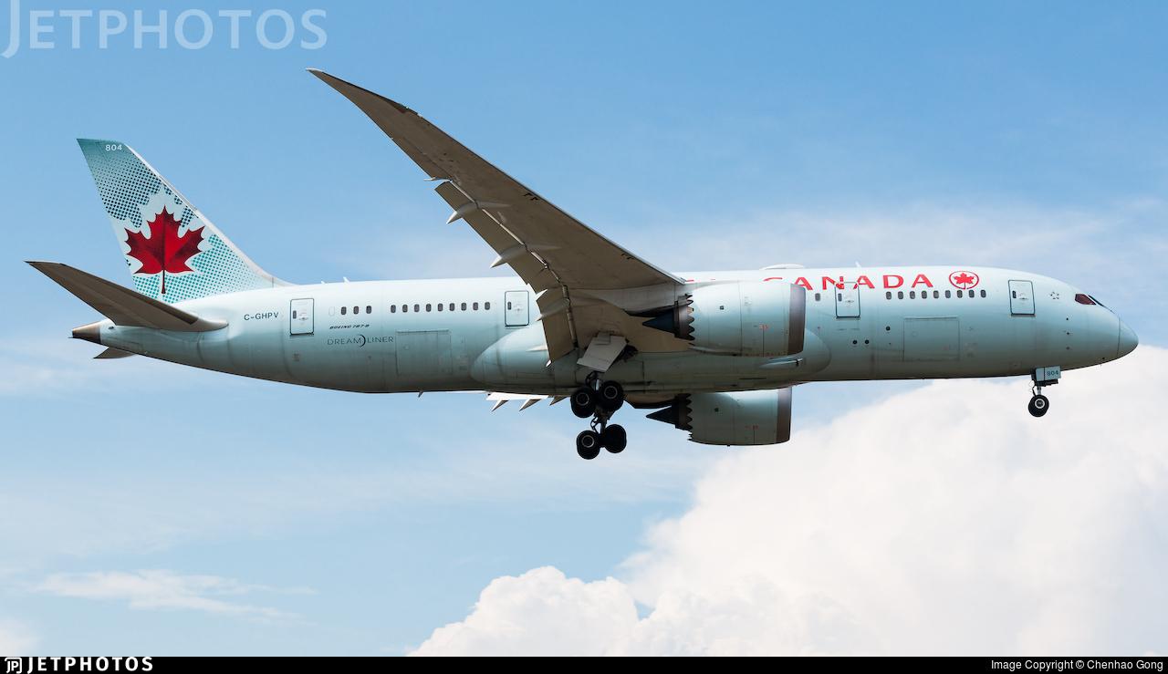 C-GHPV - Boeing 787-8 Dreamliner - Air Canada