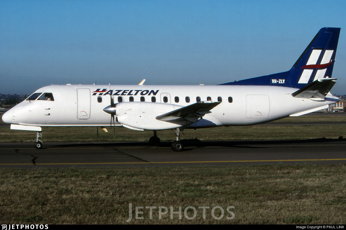 VH-ZLY - Saab 340A - Hazelton Airlines