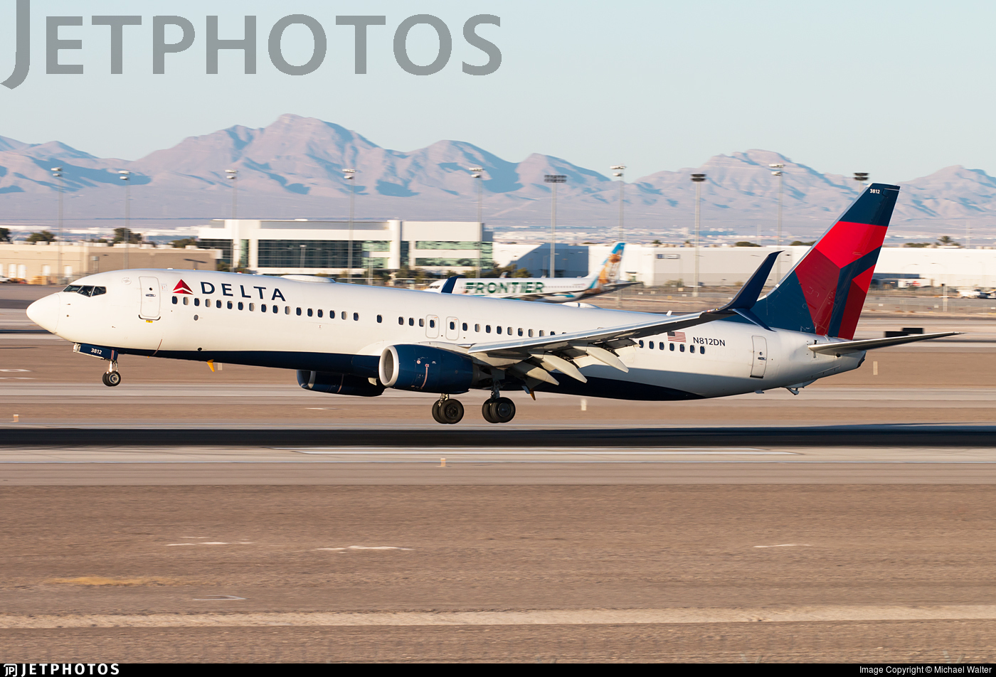N812DN - Boeing 737-932ER - Delta Air Lines