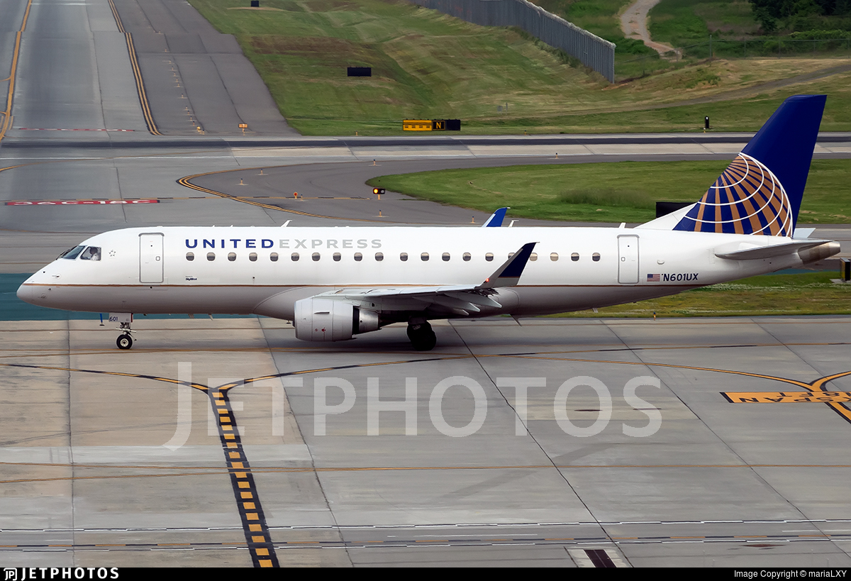 N601UX - Embraer 170-200LL - United Express (SkyWest Airlines)