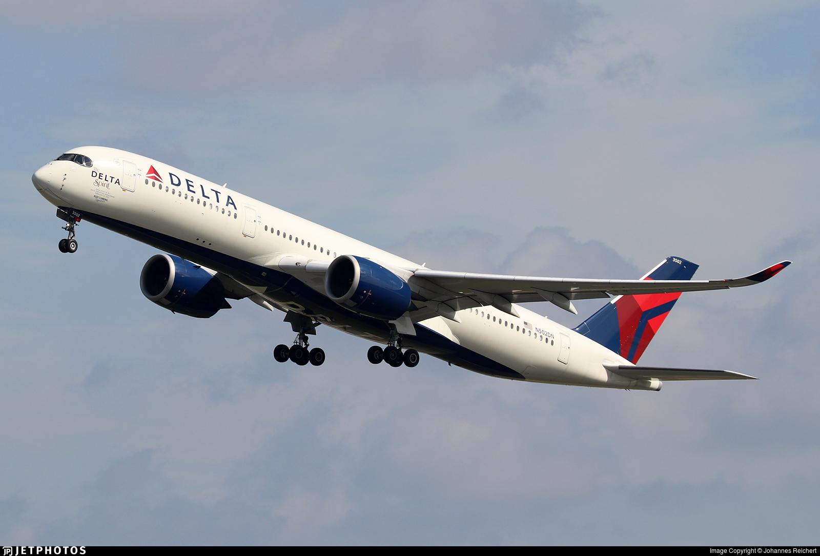 N502DN - Airbus A350-941 - Delta Air Lines