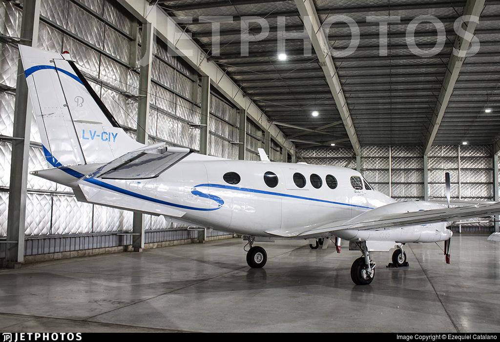 LV-CIY - Beechcraft C90A King Air - Private
