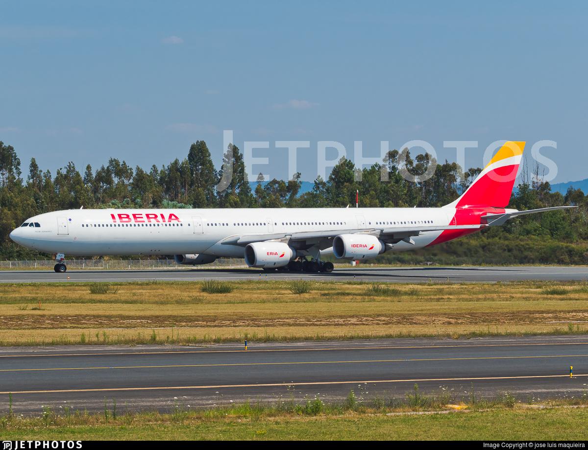 EC-KZI - Airbus A340-642 - Iberia