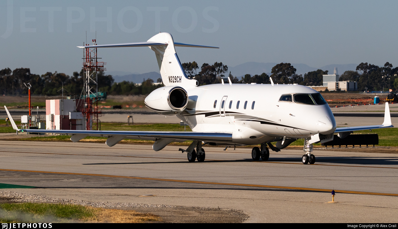 N329CH - Bombardier BD-100-1A10 Challenger 300 - Private