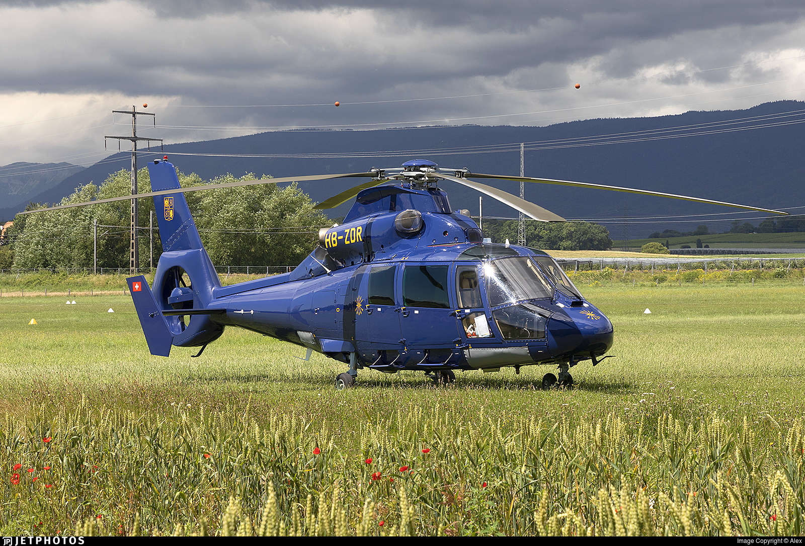 HB-ZDR - Eurocopter AS 365N3 Dauphin - Swift Copters