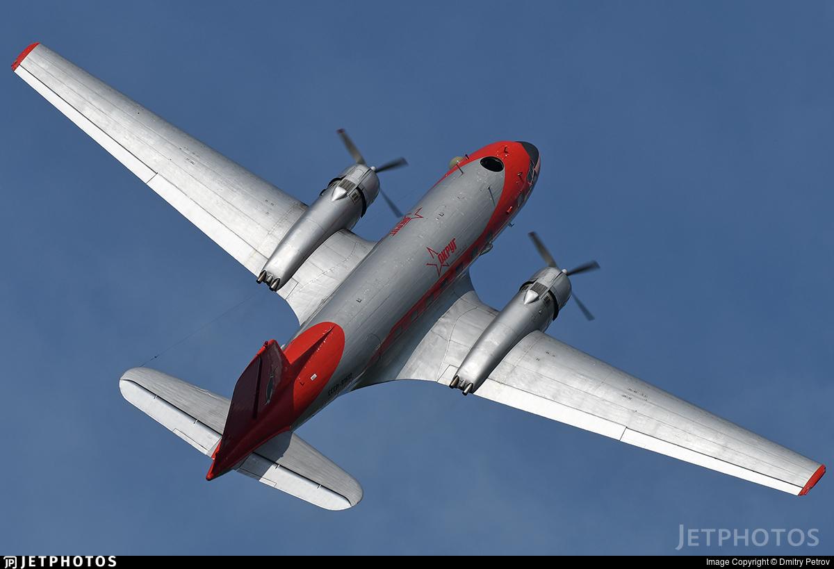 CCCP-91612 - Ilyushin IL-14T - Private