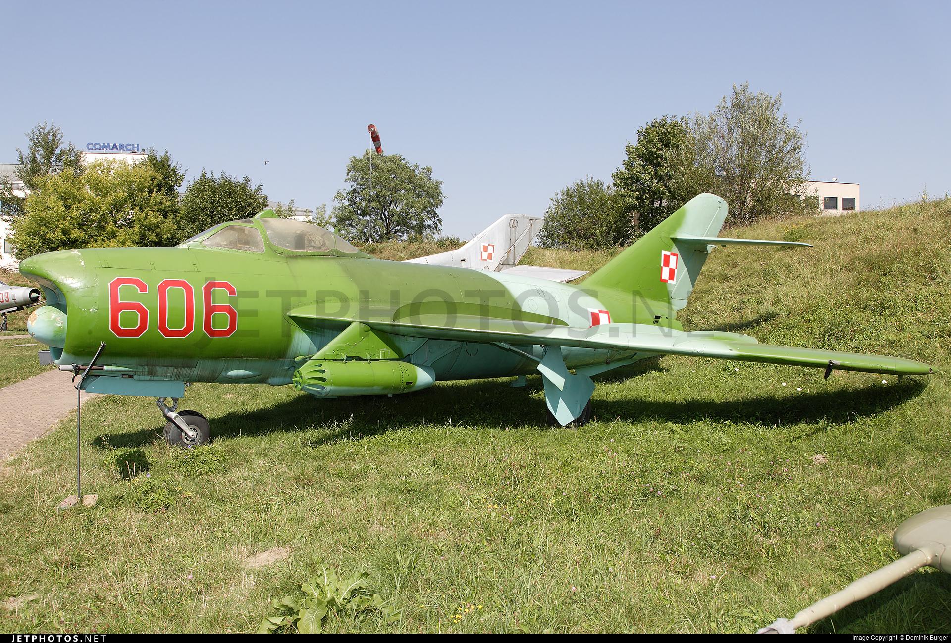 606 - WSK-Mielec Lim-6M - Poland - Air Force