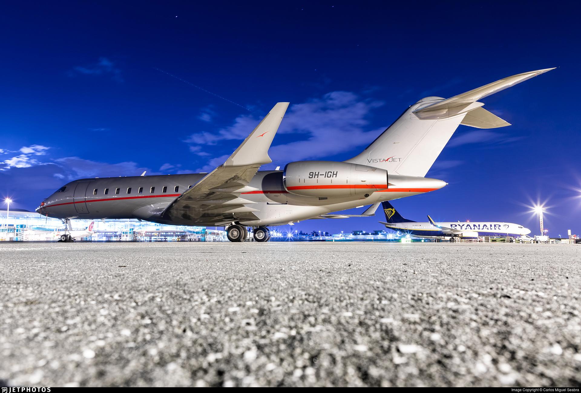 9H-IGH - Bombardier BD-700-1A10 Global 6000 - VistaJet