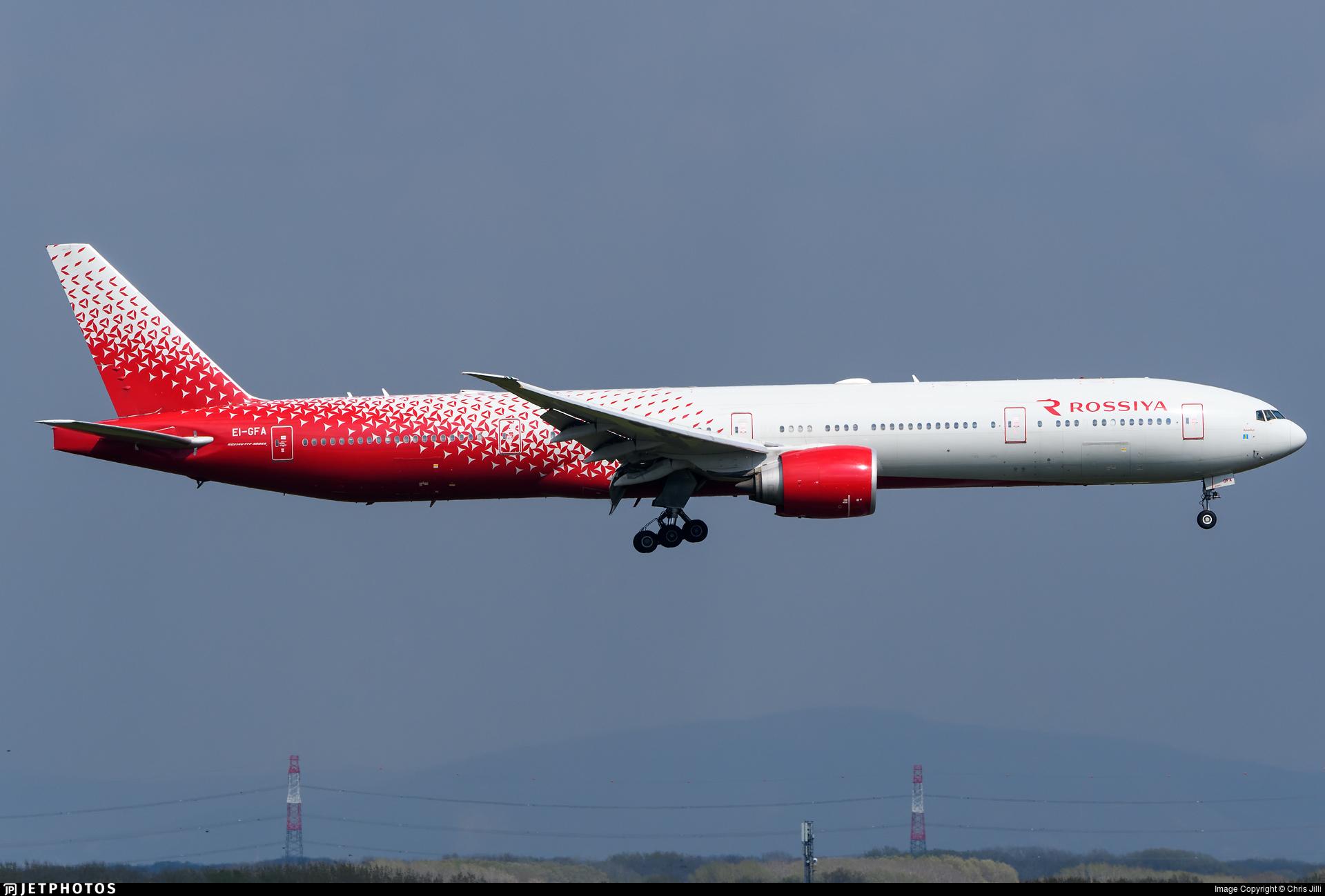 EI-GFA - Boeing 777-31HER - Rossiya Airlines