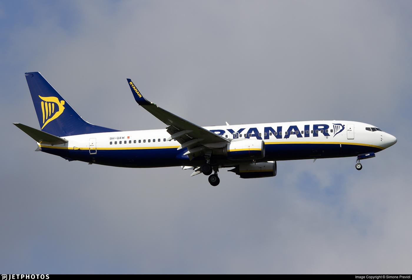 9H-QAW - Boeing 737-8AS - Ryanair (Malta Air)