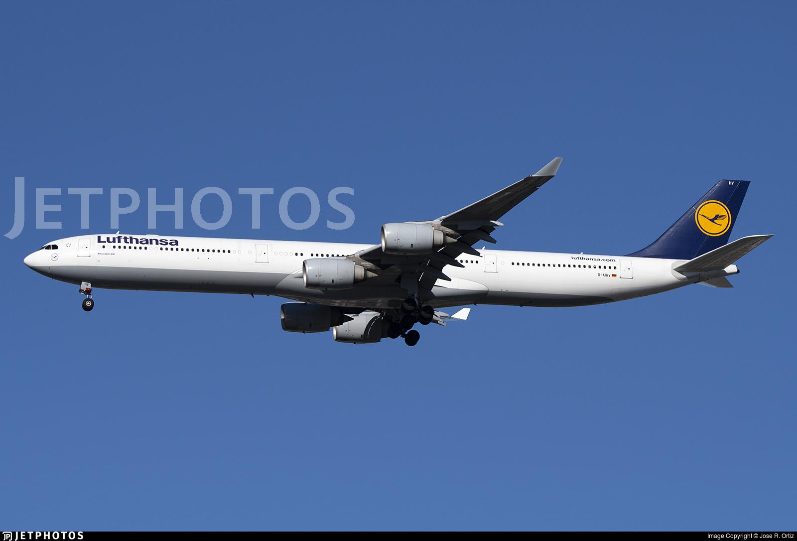 D-AIHV - Airbus A340-642 - Lufthansa